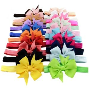 20pcs/lot 3 Inch Cute Kids Baby Girls headband Tod